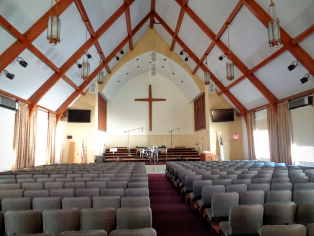 modern church inside 1